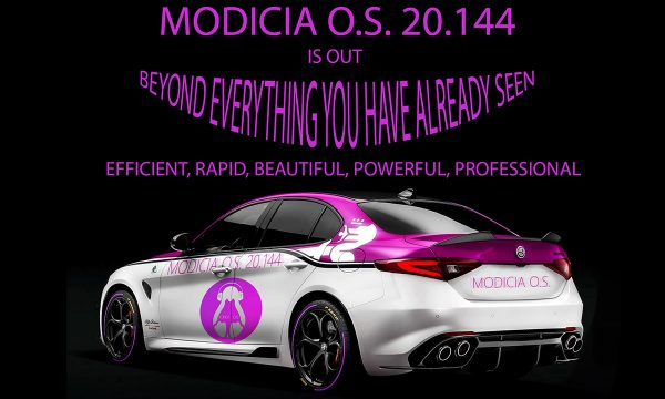New release MODICIA O.S. 20.144 based on Ubuntu 20.04 LTS.  Available for download from 02 May 2020